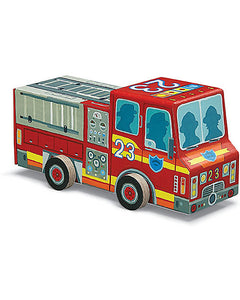 Crocodile Creek - Puzzle and Play - Fire Engine - How I Wonder.co.uk - 1
