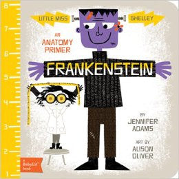 Frankenstein - Babylit - Board Books for Toddlers - how-i-wonder