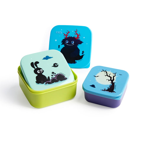 Trio Lunch Box Set - 'Fred' by Tulipop - How I Wonder.co.uk