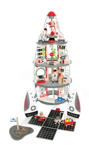 Hape Wooden Toy - Discovery Spaceship & Lift Off Rocket - How I Wonder.co.uk - 1