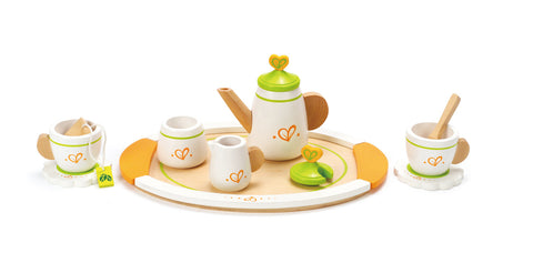 Hape Wooden Toy Tea Set for Two - How I Wonder.co.uk - 1
