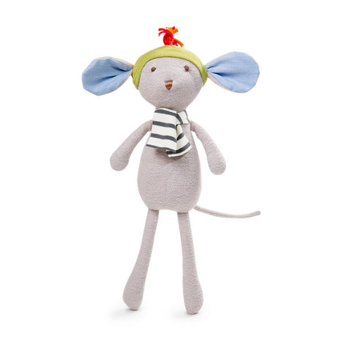 Organic Handmade Toys - Hazel Village - Oliver Mouse - How I Wonder.co.uk - 1