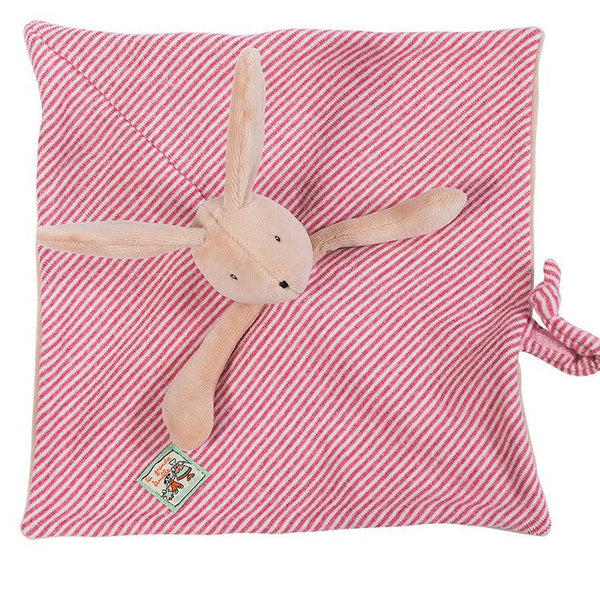 Moulin Roty Rabbit Baby Comforter La Grande Famille - Sylvain - How I Wonder.co.uk - 2