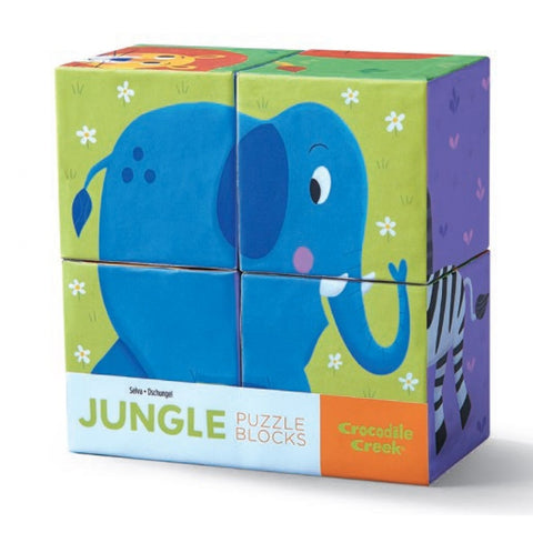 Crocodile Creek - Mini Block Puzzle - Jungle