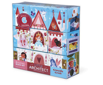 Mini Block Puzzle - Little Miss Architect - Castle - Crocodile Creek - how-i-wonder