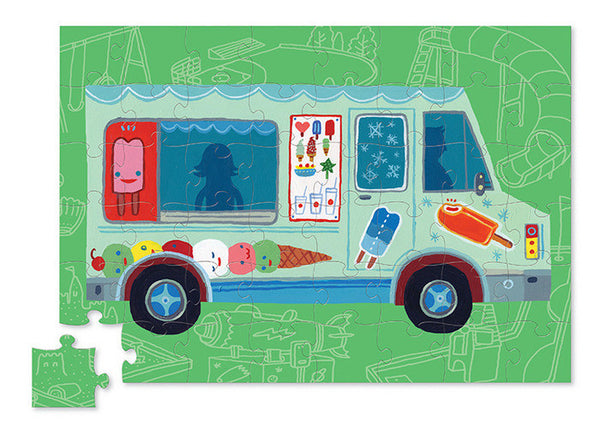 Crocodile Creek - Puzzle and Play - Ice Cream Truck - How I Wonder.co.uk - 2