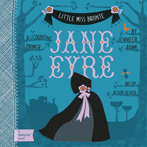 Jane Eyre - Babylit - Board Books for Toddlers - how-i-wonder