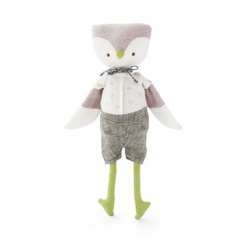 Hazel Village - Organic Handmade Toys - Jeremy Owl - How I Wonder.co.uk