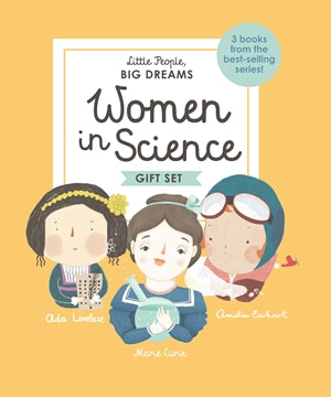 Women In Science - Box Set of 3 - Little People Big Dreams - how-i-wonder
