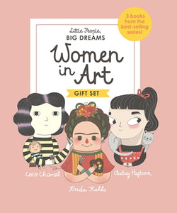 Women In Art - Box Set of 3 - Little People Big Dreams - how-i-wonder