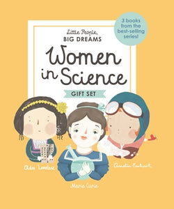 Women In Science - Little People Big Dreams - Gift Set