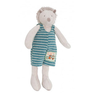 Moulin Roty Hedgehog - Leon - La Grande Famille - Soft Toy - How I Wonder.co.uk - 1