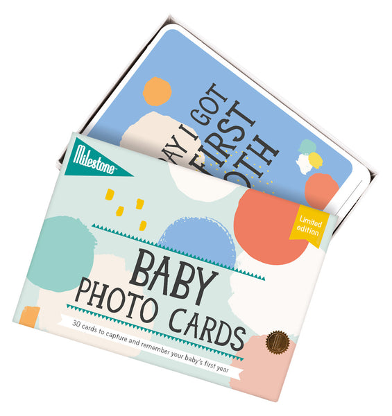 Milestone - Limited Edition - Baby Memory Cards - How I Wonder.co.uk - 1