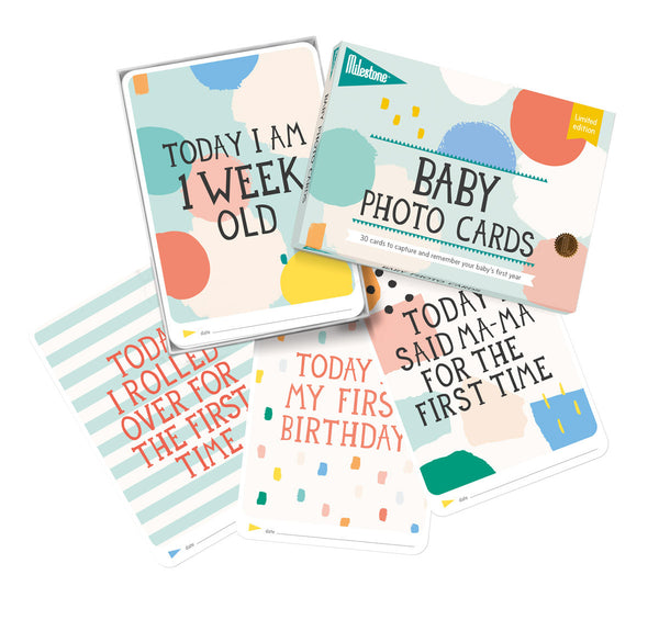 Milestone - Limited Edition - Baby Memory Cards - How I Wonder.co.uk - 2