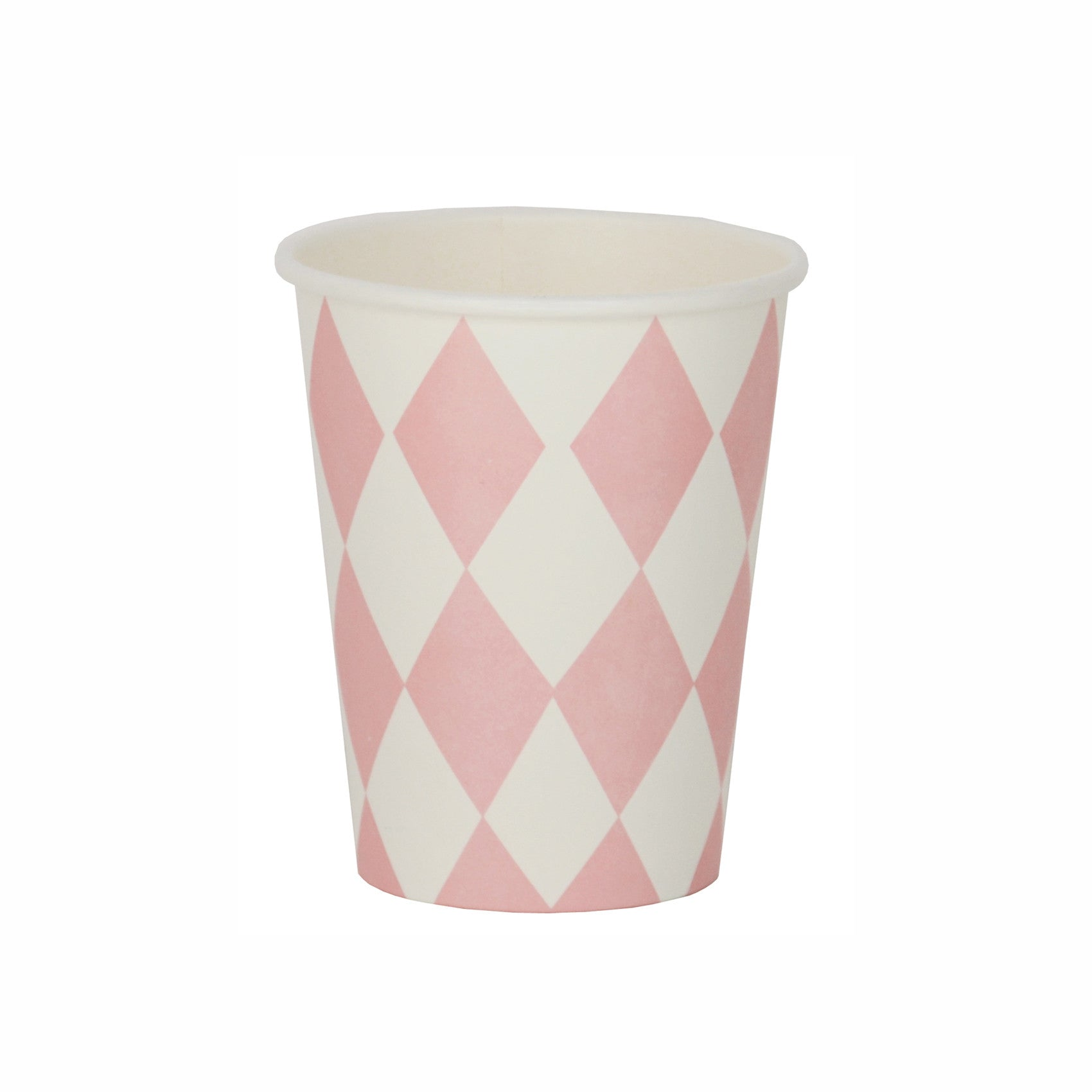 my little day - Paper Party Cups - Light Pink Diamonds - how-i-wonder