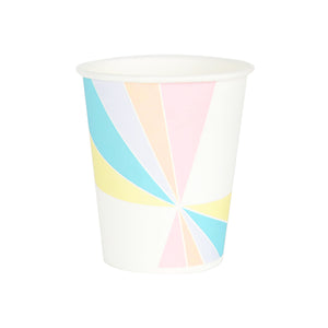 my little day - Paper Party Cups - Assorted Pastel - How I Wonder.co.uk - 1
