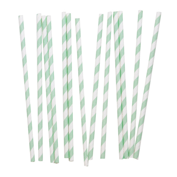 my little day - Candy Stripe Paper Straws - Fuchsia and White - how-i-wonder