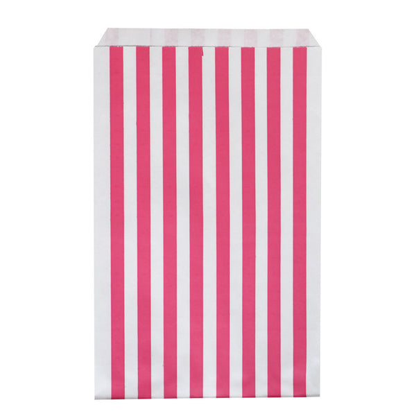 my little day - Candy Stripe Paper Straws - Fuchsia and White - How I Wonder.co.uk - 9