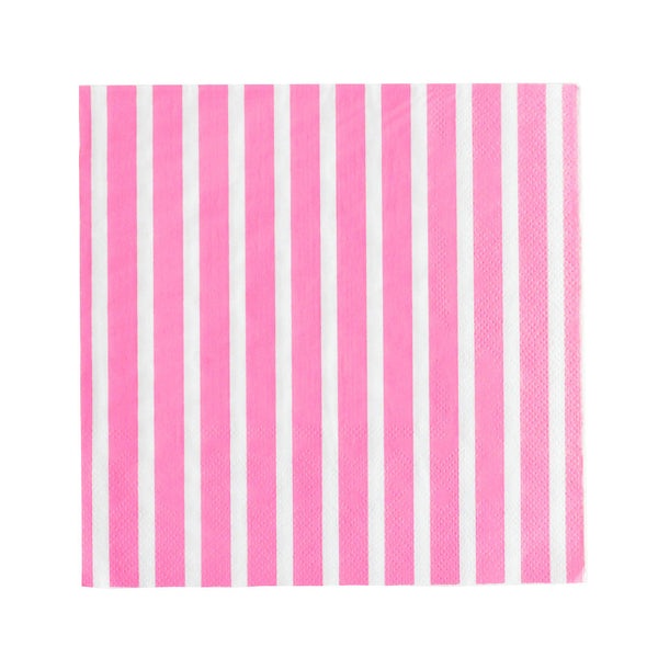 my little day - Candy Stripe Paper Straws - Fuchsia and White - How I Wonder.co.uk - 6
