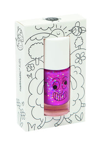 Nailmatic Kids - Sheepy - Raspberry Glitter - Single - How I Wonder.co.uk