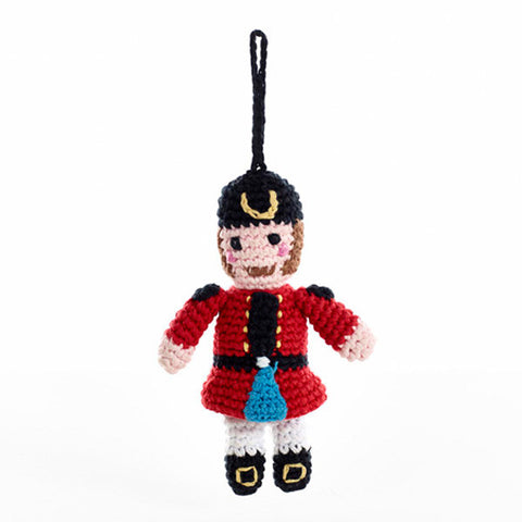 Pebble Fair Trade - 'Nutcracker' Christmas Tree Decoration - How I Wonder.co.uk