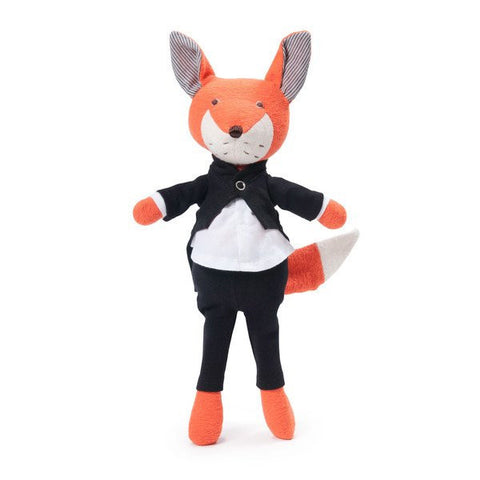 Organic Handmade Toys - Hazel Village - Owen Fox Tuxedo Outfit - How I Wonder.co.uk - 1