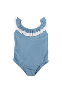 Folpetto - Penelope - Dusky Blue - Swimsuit - how-i-wonder