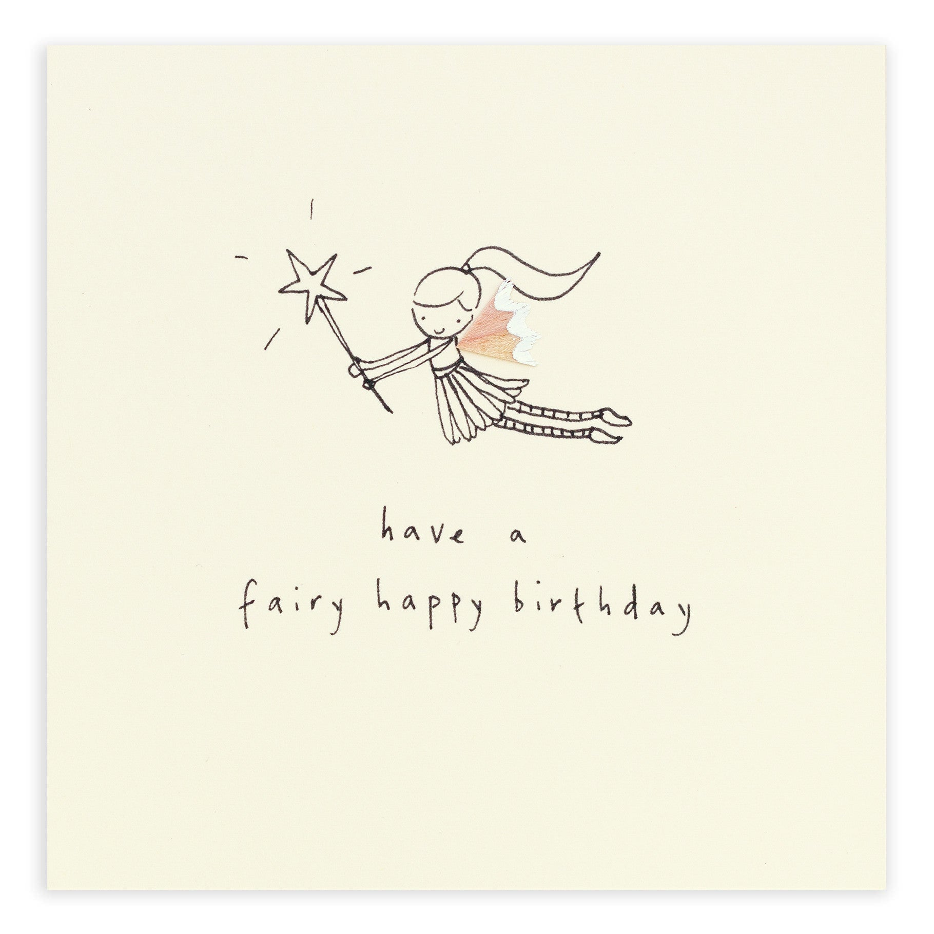 Birthday Fairy - Greetings Card - Ruth Jackson - how-i-wonder