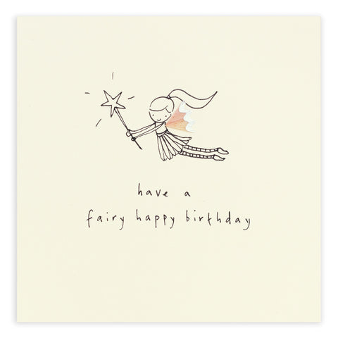 Greetings Cards - Ruth Jackson - Birthday Fairy - How I Wonder.co.uk