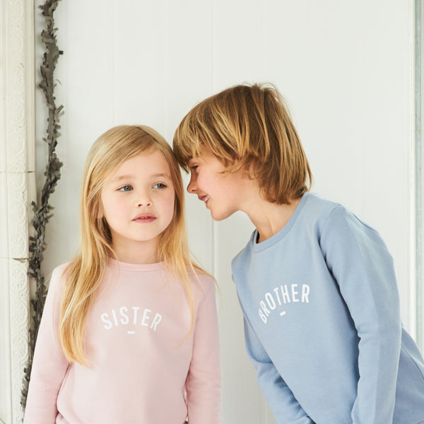 Mouse Grey - Brother Sweatshirt - Bob & Blossom - how-i-wonder