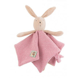Moulin Roty Rabbit Baby Comforter La Grande Famille - Sylvain - How I Wonder.co.uk - 1