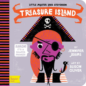 Treasure Island - Pirate - Babylit - Board Books for Toddlers - how-i-wonder