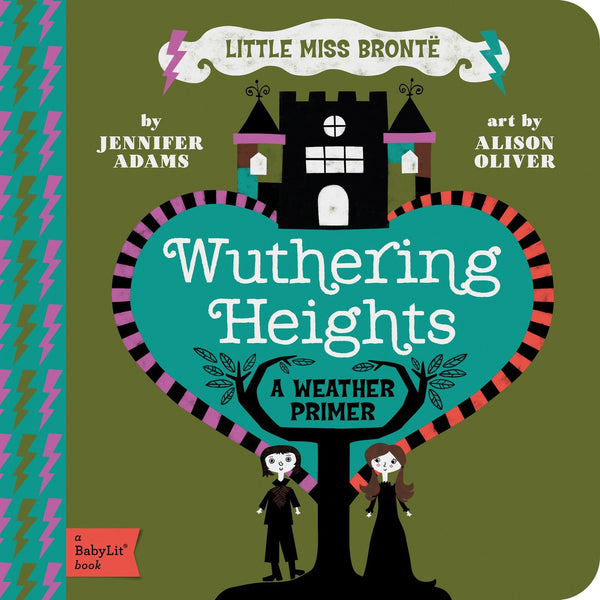 Wuthering Heights - Babylit - Board Books for Toddlers - how-i-wonder