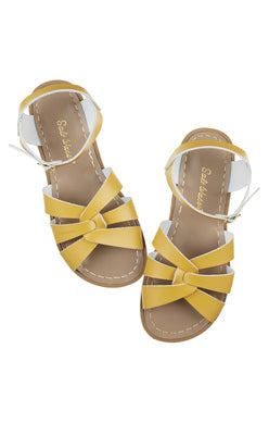Original Saltwater Sandals  - Child - Mustard - how-i-wonder