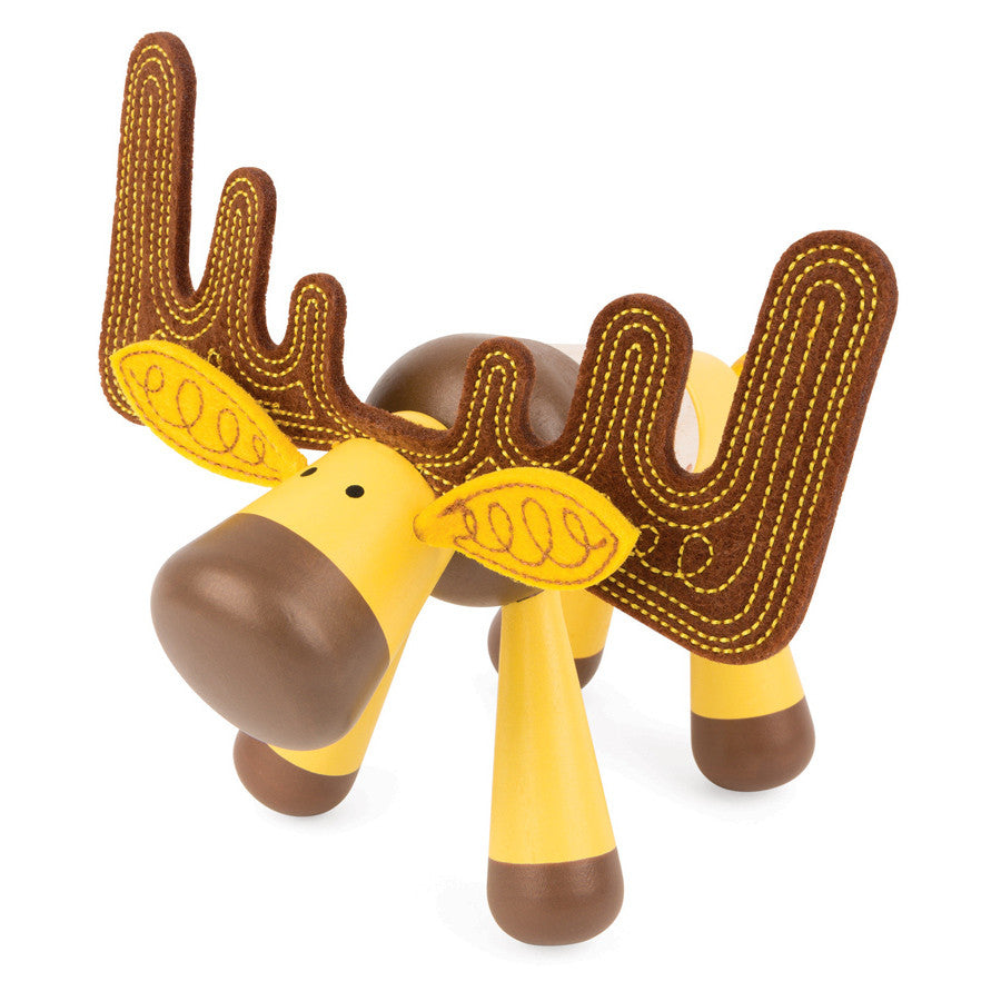Janod Toys - Zigolos Assembling Elk - How I Wonder.co.uk - 1