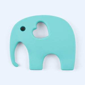 Teething Toy - Turquoise Elephant