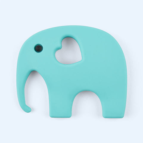 Blossom & Bear - Teething Toy - Turquoise Elephant