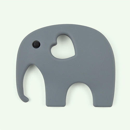 Teething Toy - Grey Elephant