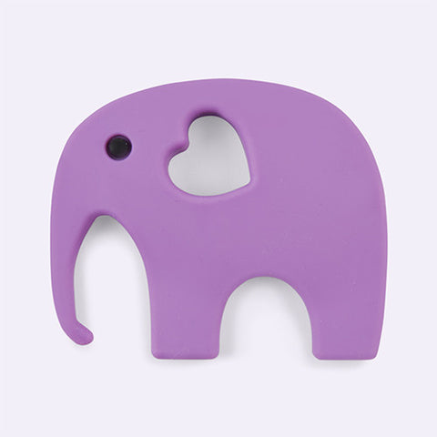 Blossom & Bear - Teething Toy - Purple Elephant