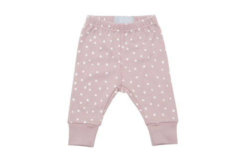 Bob & Blossom - Old Rose and White Spot - Baby Legging
