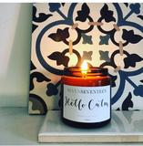 Hello Calm -  Moroccan Rose Scented Candle - Seven Seventeen - how-i-wonder