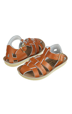 Shark Saltwater - Toddler Sandals - Tan - how-i-wonder