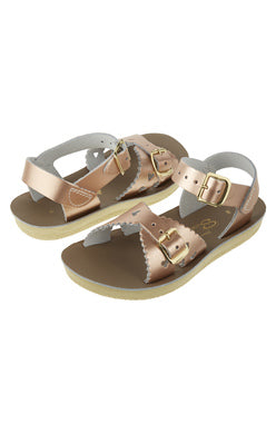 Sweetheart Saltwater Sandals  - Child - Rose Gold - how-i-wonder