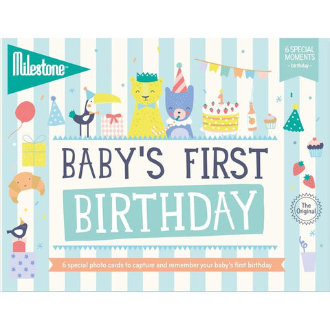 Milestone, First Special Moments Cards - Birthday - how-i-wonder