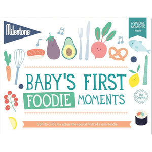 Milestone, First Special Moments Cards - Foodie - how-i-wonder