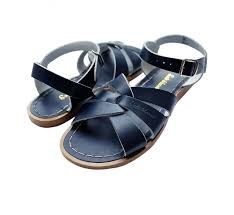 Original Saltwater Sandals - Child - Navy - how-i-wonder