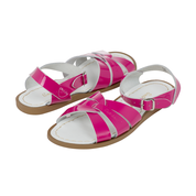Original Saltwater Sandals - Youth - Shiny Fuchsia - how-i-wonder