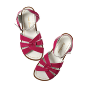 Original Saltwater Sandals - Child - Shiny Fuchsia - how-i-wonder