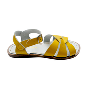 Original Saltwater Sandals - Child - Patent Yellow - how-i-wonder