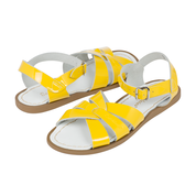 Original Saltwater Sandals -  Womens Patent - Yellow - how-i-wonder